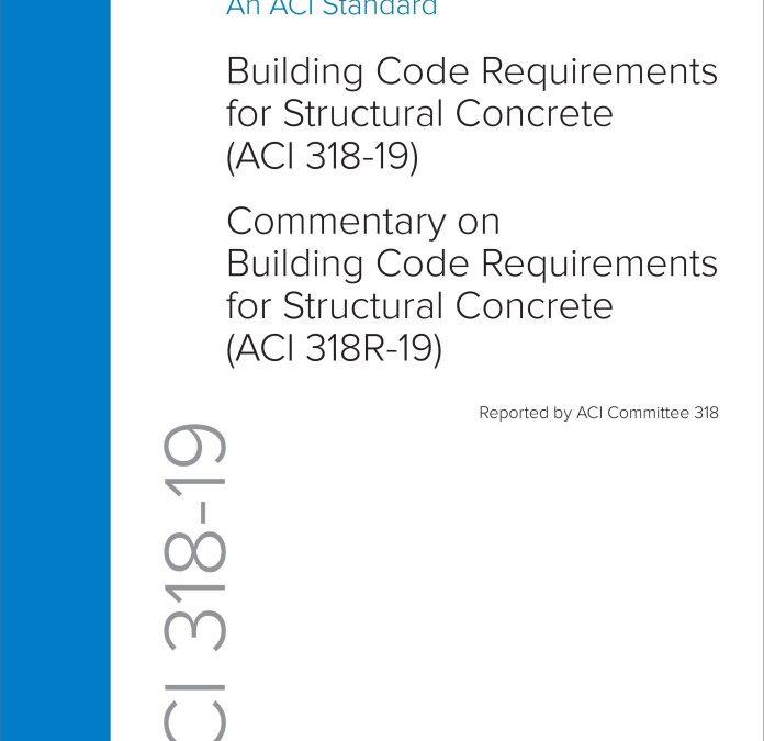 ACI 318-19. Código de construcción para concreto estructural, versión 2019