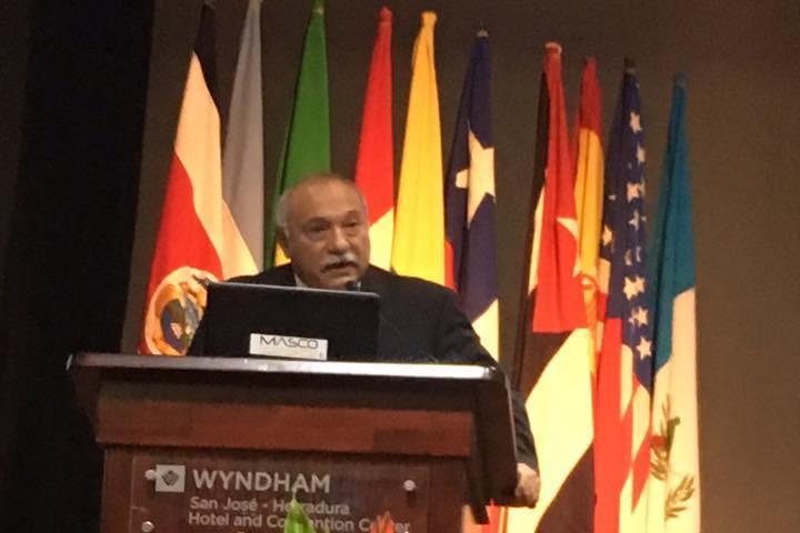 Informe de mandato del Presidente González en el WCCE