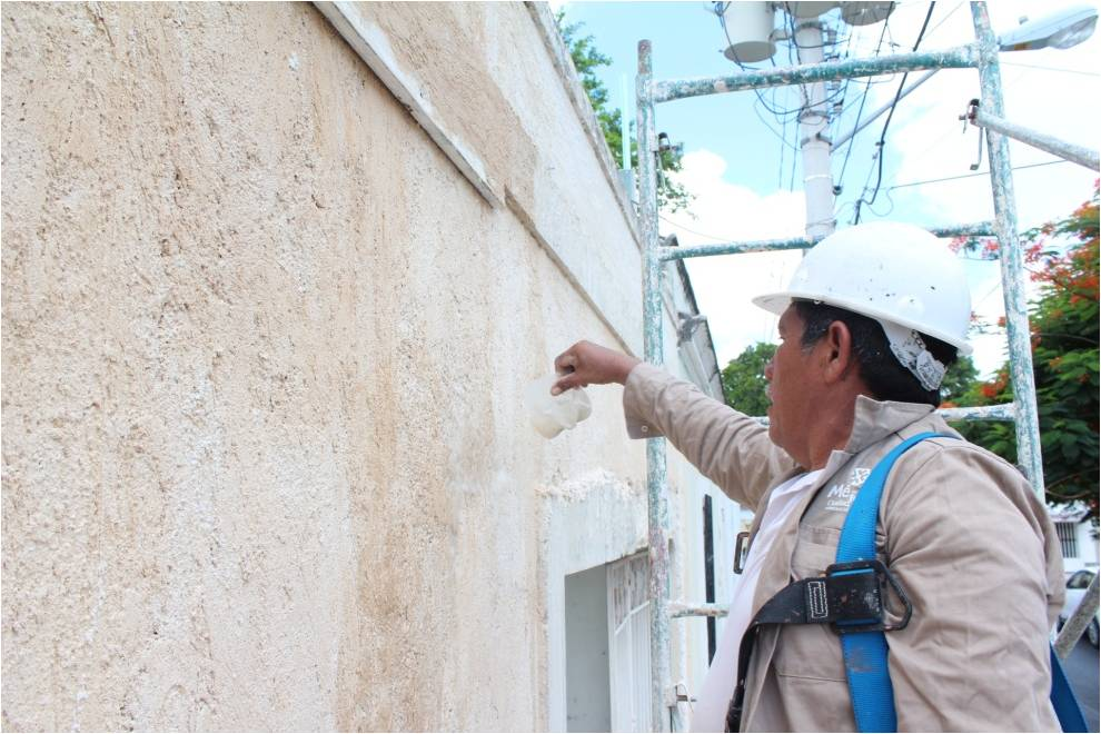 Intervención en Centros Históricos: Reintegración de aplanados