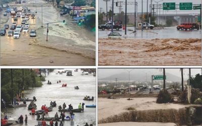 Geospatial Mapping of Flood Susceptibility via Multi-Criteria Analysis AHP and GIS: La Paz Basin, Baja California Sur., Mexico.